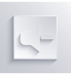 Light square icon eps 10 vector