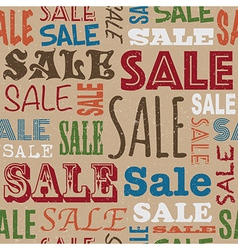 sale pattern vector image