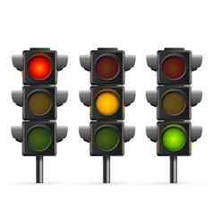 Traffic light sequence vector