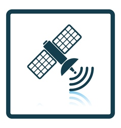 Satellite icon vector image