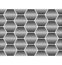 Design seamless monochrome dots background vector