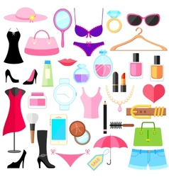 Fashion object vector