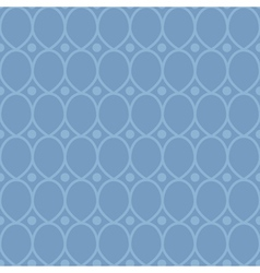 Blue abstract seamless pattern vector