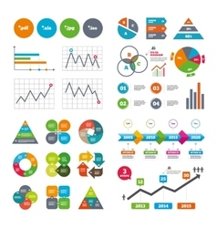 Document signs file extensions symbols vector