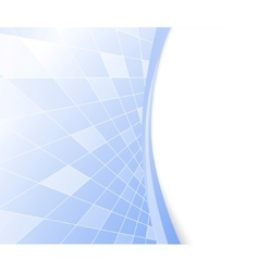 blue hi-tech background vector image vector image