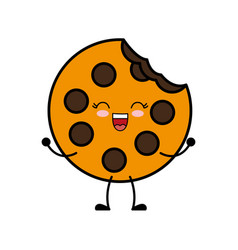 Cookie icon image vector