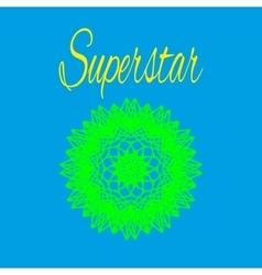 T shirt superstar vector