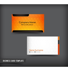 Business card template set 62 vector