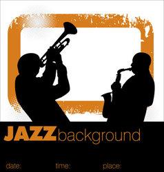 Jazz musicians vector