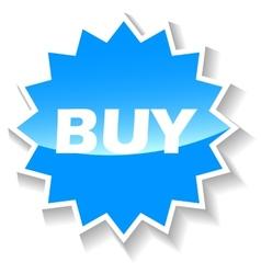 Buy blue icon vector