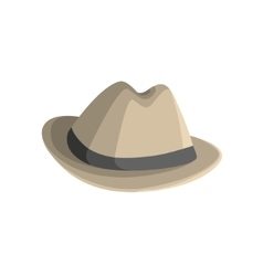 Clasy Hat With Brims vector image