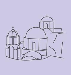 Santorini vector
