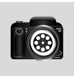 digital photo camera reel film pin vector image
