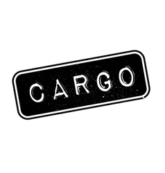 Cargo rubber stamp vector image