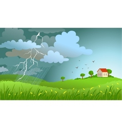 Storm is coming vector image