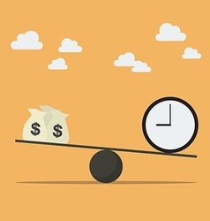 Balancing with money and time vector