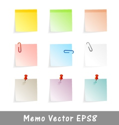 memo vector image