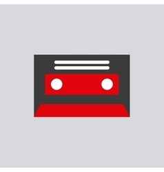 Video tape isolated icon vector