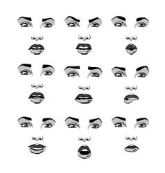 Reaction of person vector
