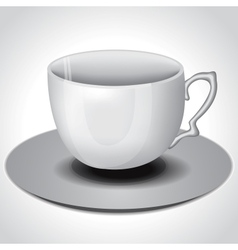 Tea coffee cup vector