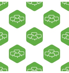 Conference pattern vector