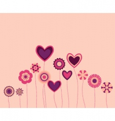 Cute flowers2 vector