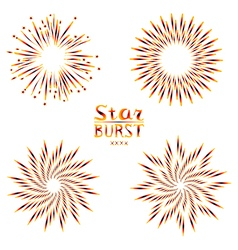 Background design with abstract fireworks and vector