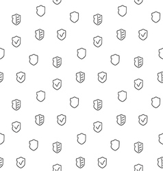 Security seamless pattern vector