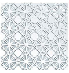 Pale grey geometric seamless pattern vector