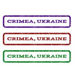 Crimea ukraine watermark stamp vector