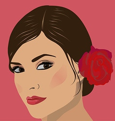 Face women vector