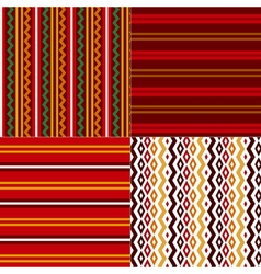 folk style Bulgarian simple traditional seamless vector image