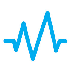 sound wave icon vector image