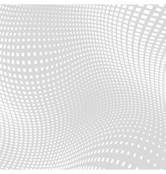 Light gray white distort halftone background vector