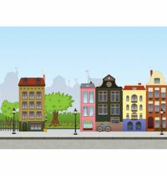 European cityscape vector