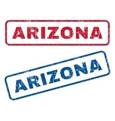 Arizona rubber stamps vector