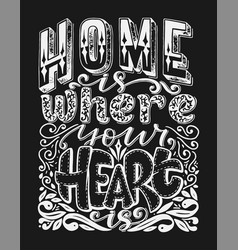 calligraphy image hand drawn lettering vector image