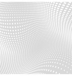 Light gray white distort halftone background vector