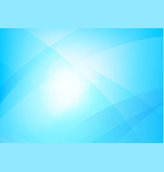 Abstract blue background with simply curve vector