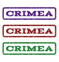 crimea watermark stamp vector image