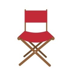Fil director chair vector