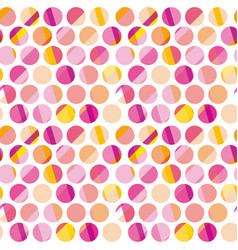Modern polka dot seamless pattern concept surface vector