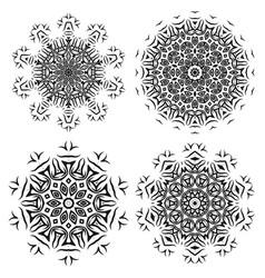 ornamental pattern oriental geometric ornament vector image vector image