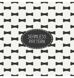 seamless retro pattern with vintage hipster vector image vector image