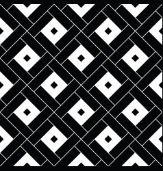 squares tessellation repeated white checks vector image