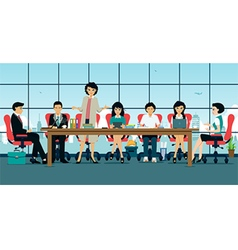 Meeting room vector