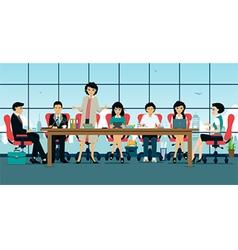 meeting room vector image