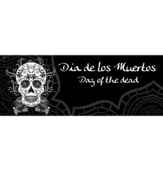 Day of the Dead a Mexican festival Dia de los vector image vector image