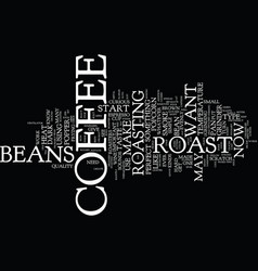 The perfect coffee is here text background word vector