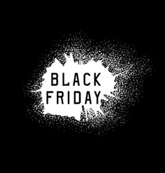 Black friday sale holiday grunge vector